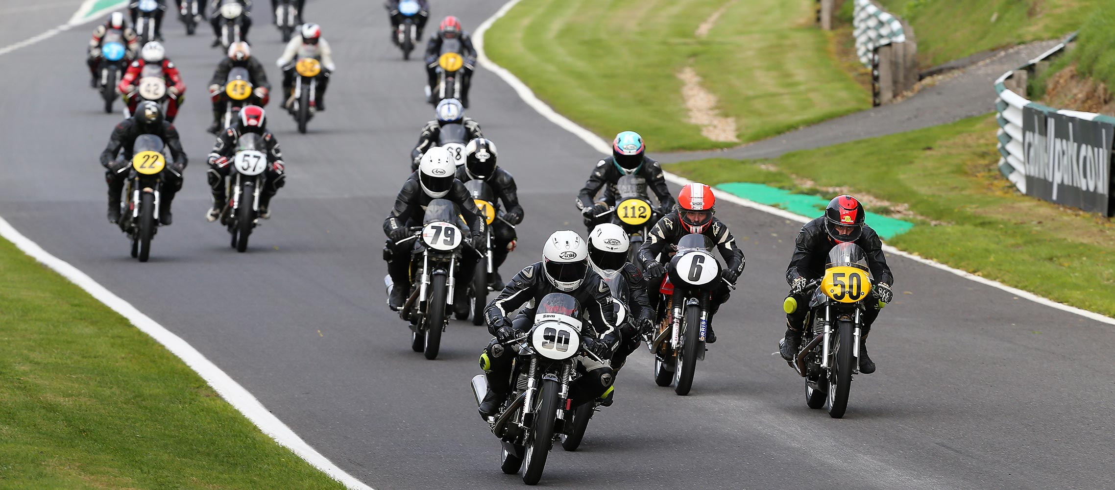 Classic bike racing with The Lansdowne from Cadwell Park in 2018