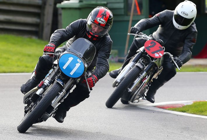 Classic racing in the UK with the Lansdowne