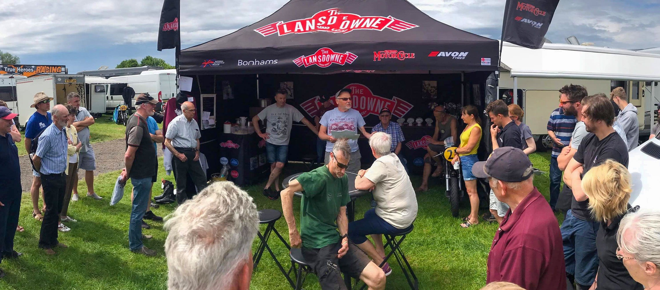 The Lansdowne prize giving at Cadwell Park