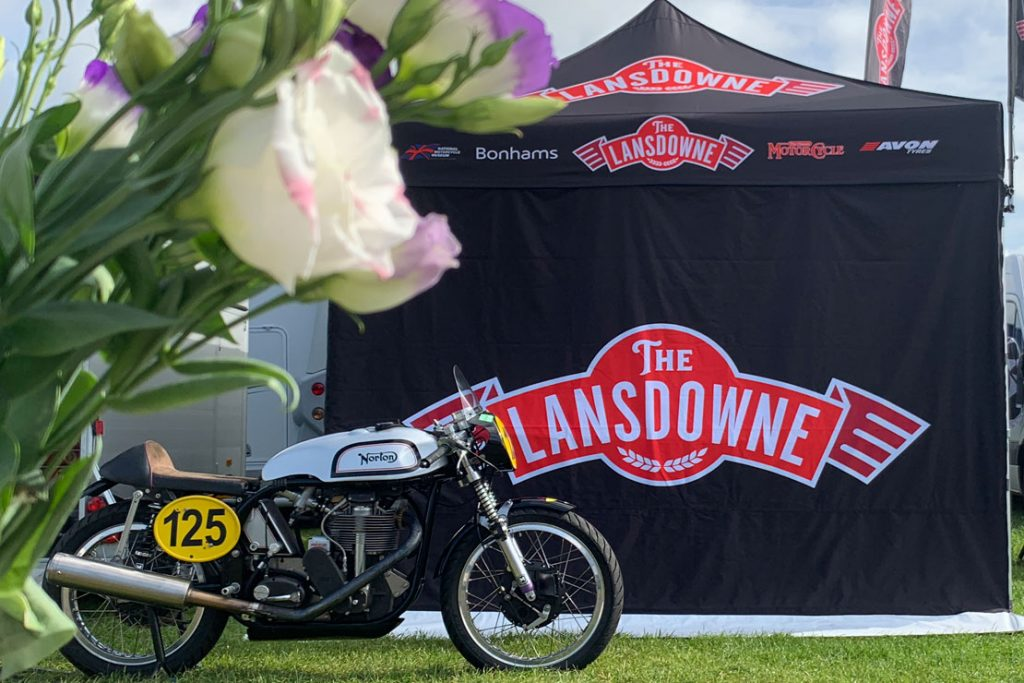 Hospitality at the Lansdowne Classic racing series