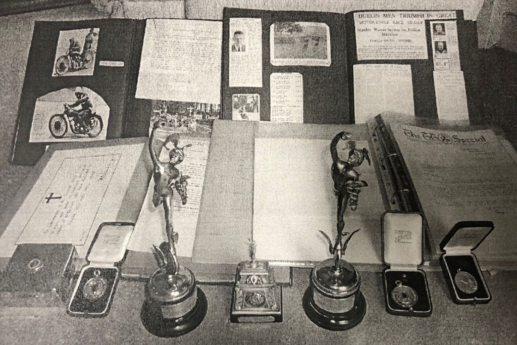 Tyrell-Smith Rudge trophies from Brooklands 1934