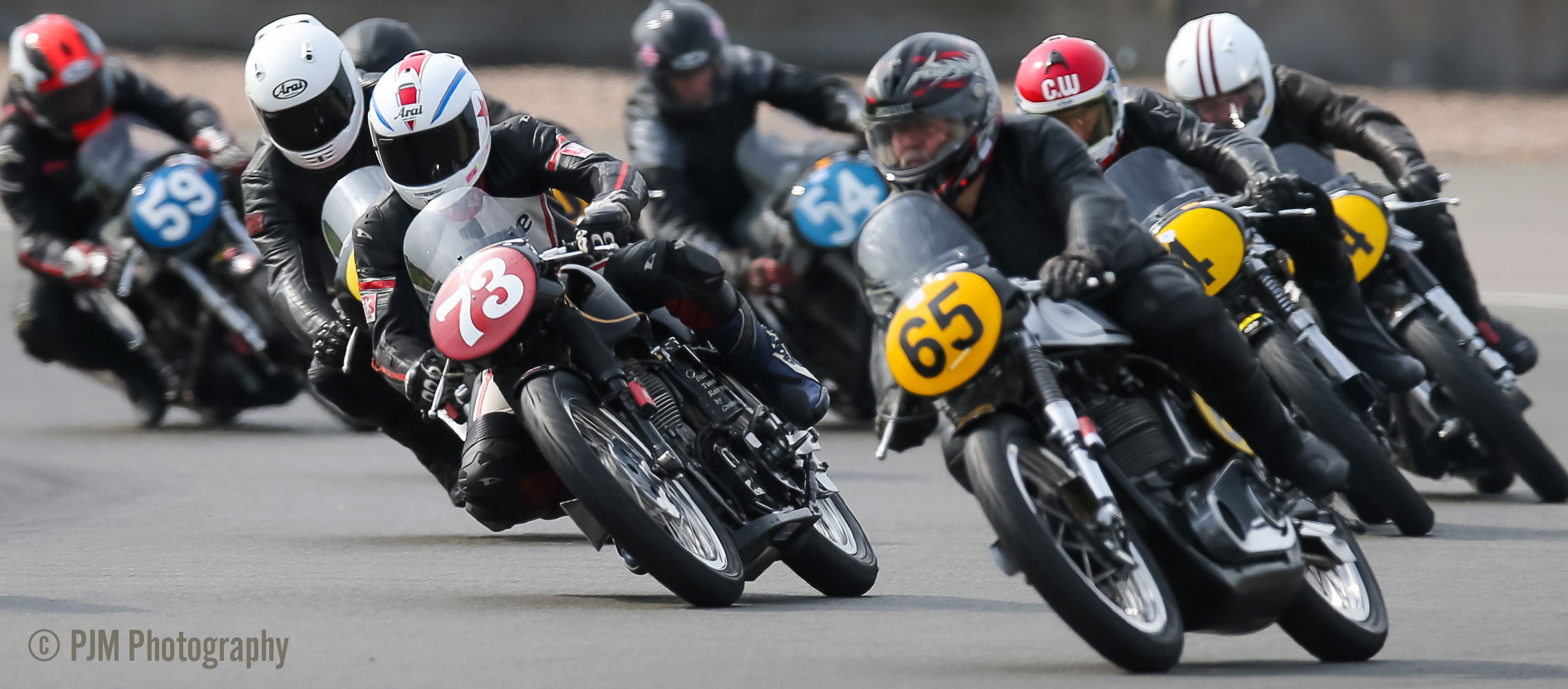 Ken Perch in his first Lansdowne season at Donington Park Classic Racing