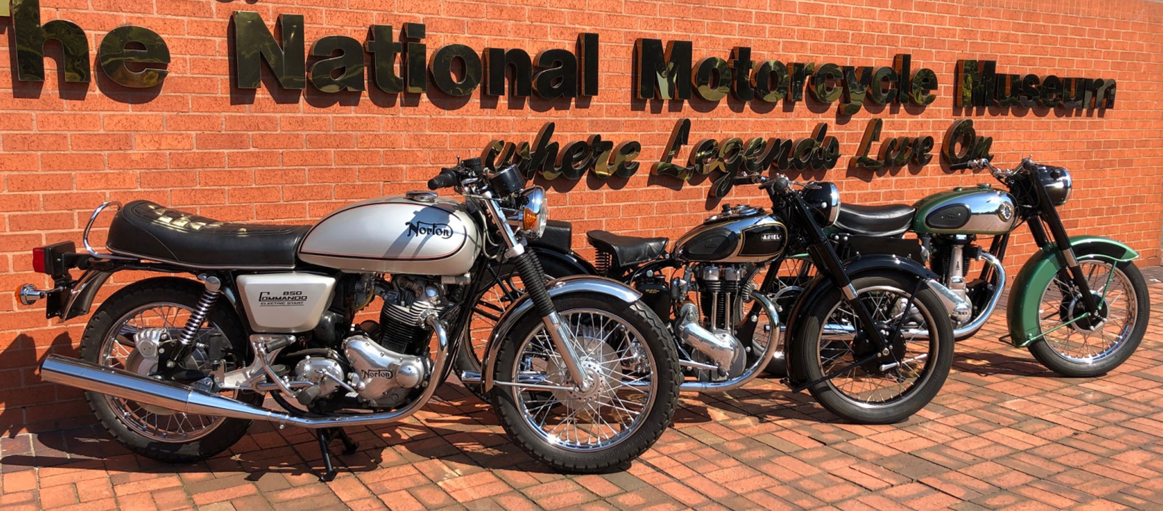 The National Motorcycle Museum Raffle – support the Lansdowne Classic sponsor